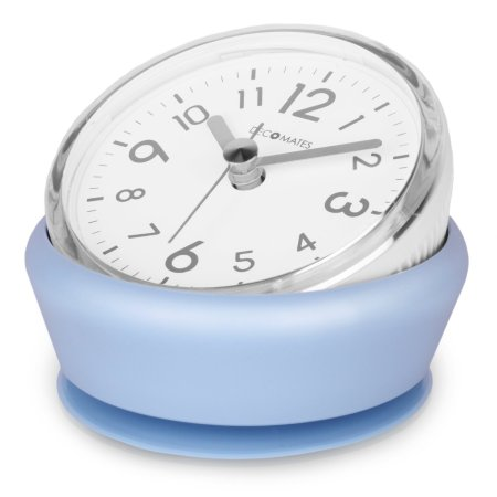 Light blue tilt clock