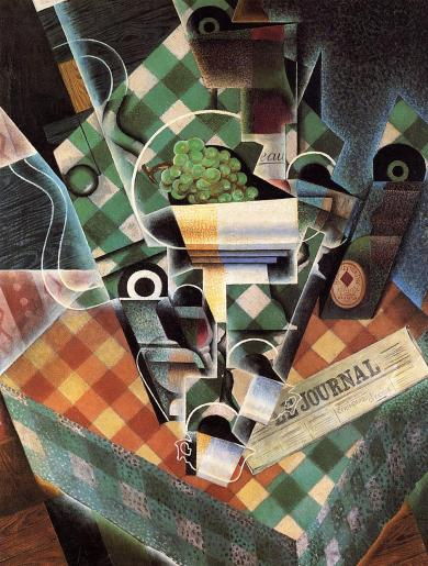 Gris-Still_Life_with_Checked_Tablecloth-1915