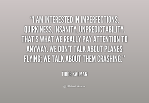 Kalman on Imperfection