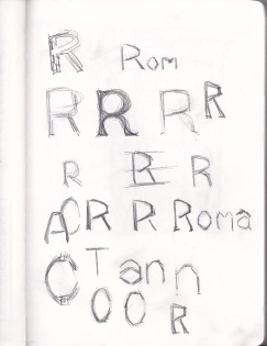 Letterform R_01
