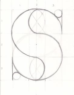 Letterform S Bodoni