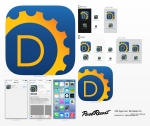 DAYWORKS iOS App Icon Template